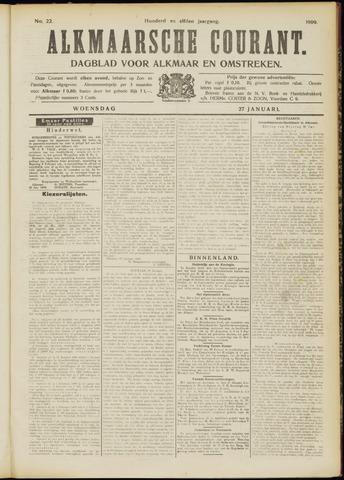 Alkmaarsche Courant 1909-01-27
