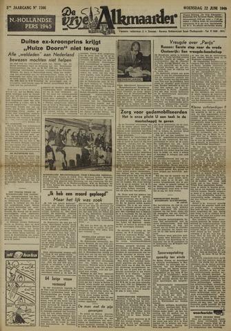 De Vrije Alkmaarder 1949-06-22
