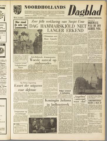 Noordhollands Dagblad : dagblad voor Alkmaar en omgeving 1961-02-15