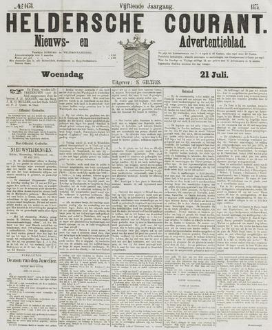 Heldersche Courant 1875-07-21