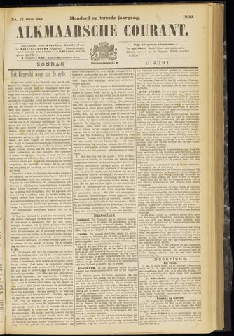 Alkmaarsche Courant 1900-06-17