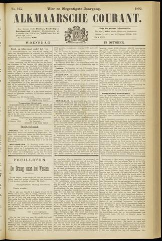 Alkmaarsche Courant 1892-10-19