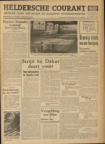 Heldersche Courant 1940-09-25