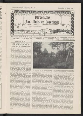 Bergensche bad-, duin- en boschbode 1937-06-26