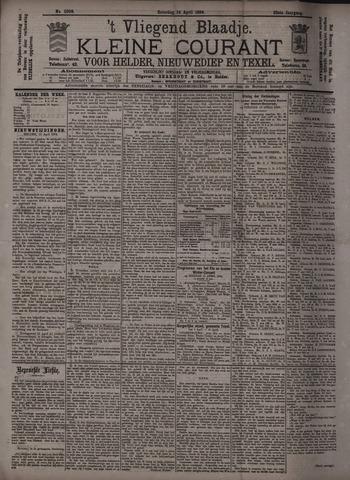 Vliegend blaadje : nieuws- en advertentiebode voor Den Helder 1894-04-14