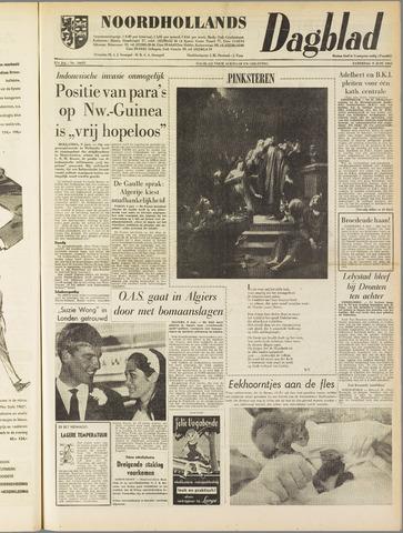 Noordhollands Dagblad : dagblad voor Alkmaar en omgeving 1962-06-09