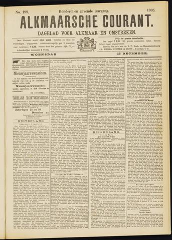 Alkmaarsche Courant 1905-12-13
