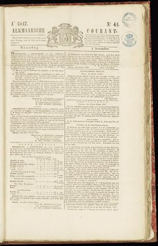 Alkmaarsche Courant 1847-11-01
