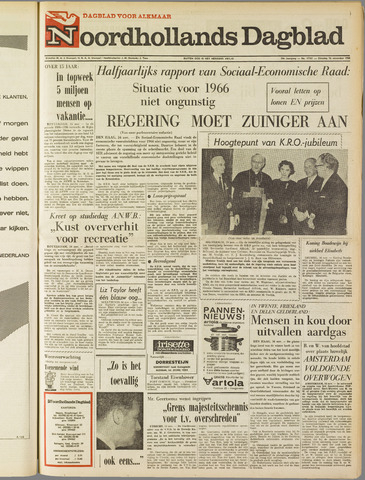 Noordhollands Dagblad : dagblad voor Alkmaar en omgeving 1965-11-16
