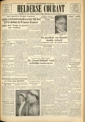 Heldersche Courant 1954-08-25
