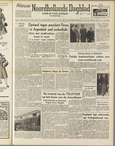 Nieuw Noordhollandsch Dagblad : voor Alkmaar en omgeving 1951-09-29