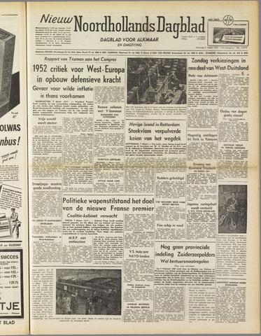 Nieuw Noordhollandsch Dagblad : voor Alkmaar en omgeving 1952-03-08