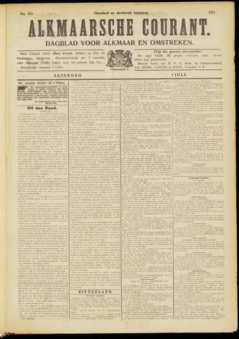Alkmaarsche Courant 1911-07-01