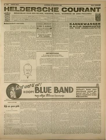 Heldersche Courant 1932-08-27