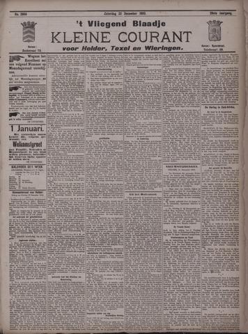 Vliegend blaadje : nieuws- en advertentiebode voor Den Helder 1900-12-22