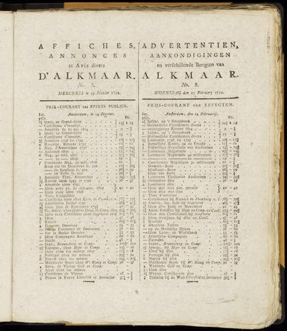 Alkmaarsche Courant 1812-02-19