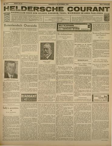 Heldersche Courant 1934-11-22