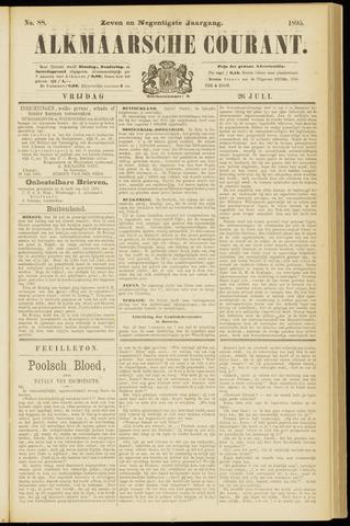 Alkmaarsche Courant 1895-07-26