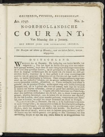 Noordhollandsche Courant 1797-01-09