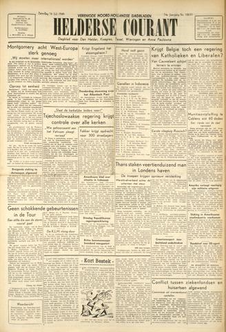 Heldersche Courant 1949-07-16