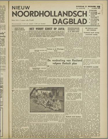 Nieuw Noordhollandsch Dagblad : voor Alkmaar en omgeving 1945-12-11