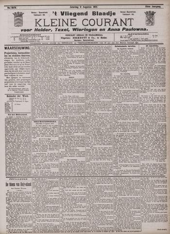 Vliegend blaadje : nieuws- en advertentiebode voor Den Helder 1902-08-09