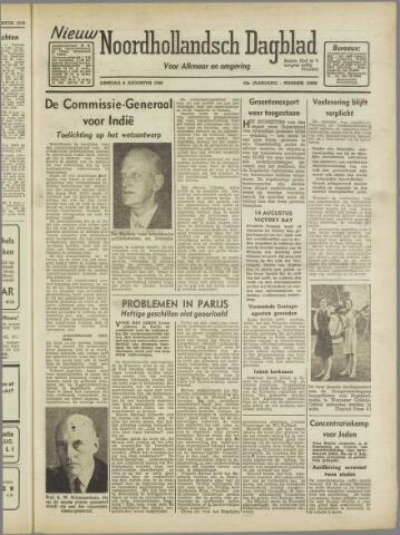 Nieuw Noordhollandsch Dagblad : voor Alkmaar en omgeving 1946-08-06