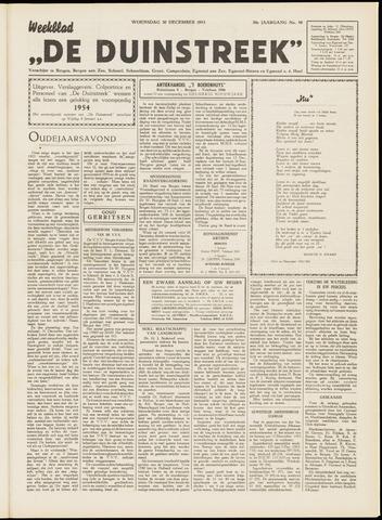 De Duinstreek 1953-12-30