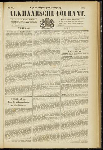 Alkmaarsche Courant 1893-07-28