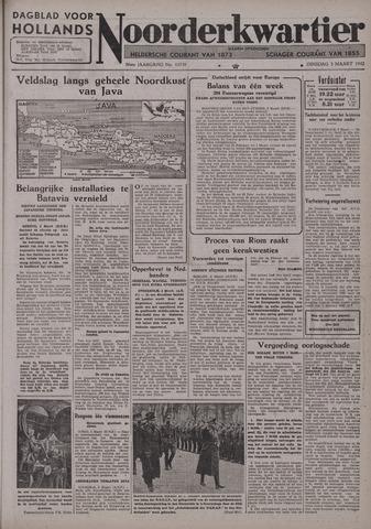 Dagblad voor Hollands Noorderkwartier 1942-03-03