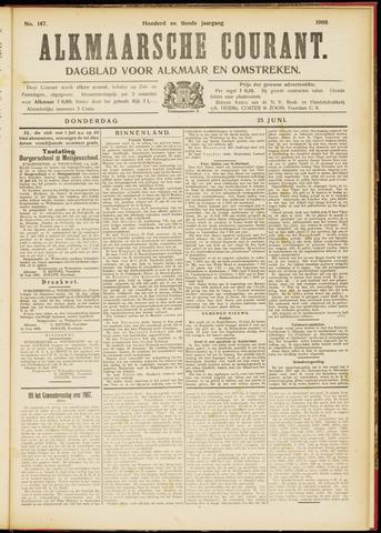 Alkmaarsche Courant 1908-06-25