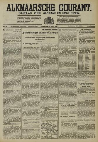 Alkmaarsche Courant 1937-04-29
