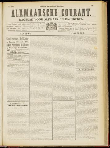 Alkmaarsche Courant 1911-10-23