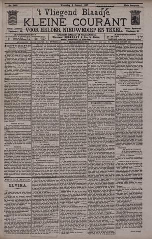 Vliegend blaadje : nieuws- en advertentiebode voor Den Helder 1897-01-06