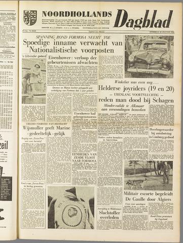 Noordhollands Dagblad : dagblad voor Alkmaar en omgeving 1958-08-28
