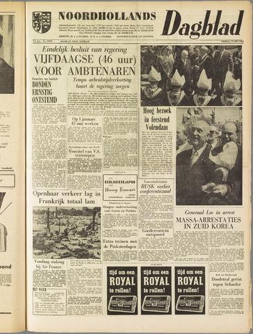 Noordhollands Dagblad : dagblad voor Alkmaar en omgeving 1961-05-19