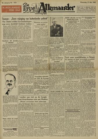 De Vrije Alkmaarder 1948-05-12