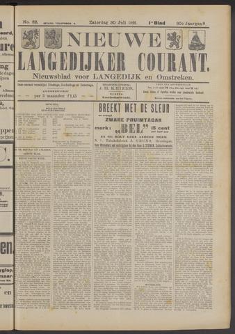 Nieuwe Langedijker Courant 1921-07-30