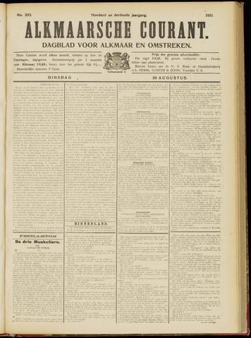 Alkmaarsche Courant 1911-08-29
