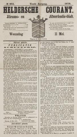 Heldersche Courant 1870-05-11