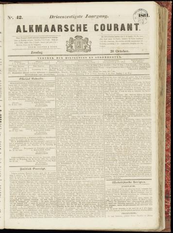 Alkmaarsche Courant 1861-10-20