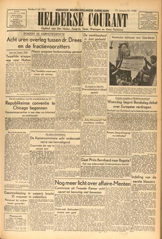 Heldersche Courant 1952-07-08