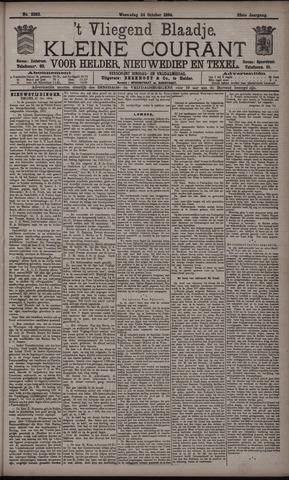 Vliegend blaadje : nieuws- en advertentiebode voor Den Helder 1894-10-24