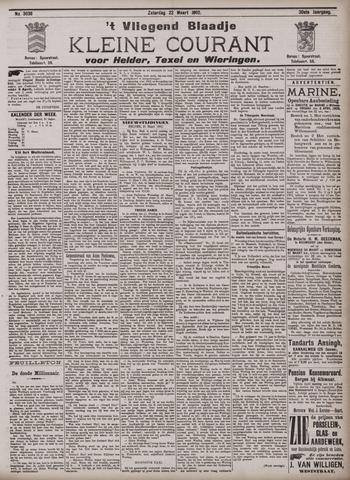Vliegend blaadje : nieuws- en advertentiebode voor Den Helder 1902-03-22