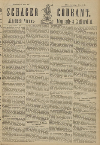 Schager Courant 1911-06-29