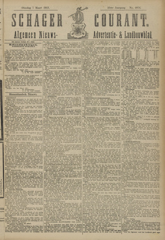 Schager Courant 1911-03-07