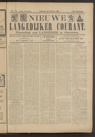Nieuwe Langedijker Courant 1922-03-21
