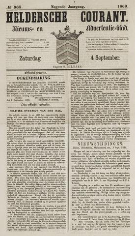 Heldersche Courant 1869-09-04