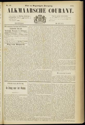Alkmaarsche Courant 1892-07-10