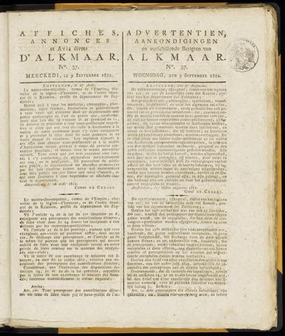 Alkmaarsche Courant 1812-09-09